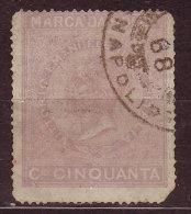 ITALIE - Fiscal - 1868 - NAPOLI - MARCA DA BOLLO - Steuermarken