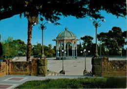 CALTAGIRONE  VILLA  COMUNALE   PALCO  DELLA  MUSICA        (VIAGGIATA) - Catania
