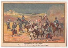 (Chromos) G, Germain 38, Militaria, Campagne De Tunisie (1881) - Sin Clasificación