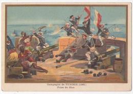 (Chromos) G, Germain 40, Militaria, Campagne De Tunisie (1881) - Sin Clasificación