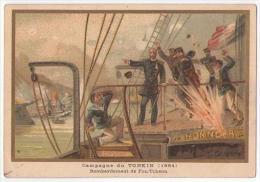 (Chromos) G, Germain 45, Militaria, Campagne Du Tonkin (1884) - Sin Clasificación
