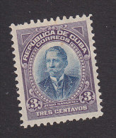 Cub, Scott #241, Mint Hinged, Julio Sanguily, Issued 1910 - Unused Stamps