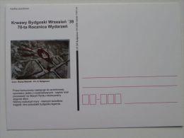 German Extermination Bydgoszcz September 1939  / The Legend Of Bloody Hands / Carte Postale / 2 Scan - Guerre 1939-45