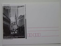 German Extermination Bydgoszcz September 1939  / Church St Ignacy / Carte Postale / 2 Scan - Guerre 1939-45