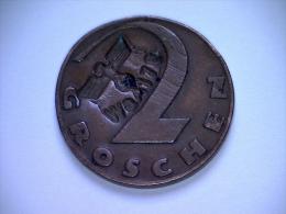 Kamp Geld 2 Groschen 1926 (WaA176)  EXTREME RARE !!!!!!!!!! - [ 4] 1933-1945 : Troisième Reich