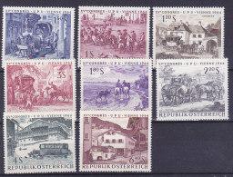 Oesterreich - XV Congres UPU Vienne 1964 (1156-1163) Transport - 1961-70 Unused Stamps