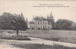 CPA Haute Goulaine, Château De La Haudinière (Nord Est) (pk17114) - Haute-Goulaine