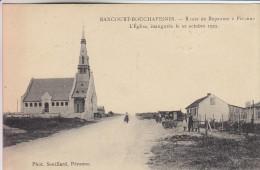 Carte Pas Très Courante - 80 - Rancourt Bouchavesnes - Route De Bapaume à Péronne - L´Eglise - Scans Recto-verso - France
