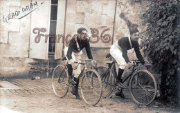 (33) Carte Photo De GRADIGNAN - Jeunes Coureurs Cyclistes Vers 1910 - Vélo Bicyclette - Bike Cyclists In 1910s - Gradignan