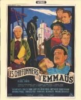 Affiche 21 / 27 Cm  : Les Chiffonnier D'Emmaus - Pubblicitari
