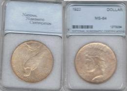 EE.UU. USA DOLLAR 1922 MS 64 PLATA SILVER - 1921-1935: Peace