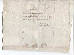LAC Daré De Brugge Gff Bruges 91 Taxé 2 V.Eecloo PR2040 - 1794-1814 (French Period)