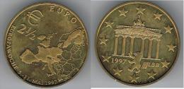 ALEMANIA GERMANY 2 50 EURO 1997 - [ 7] 1949-… : FRG - Fed. Rep. Germany