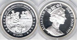 ISLE OF MAN 10 EURO SCHUBERT 1997 - Colonias