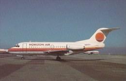 Horizon Air Fokker F28 100 - 1946-....: Moderne