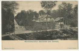 Waldrestauration Dachsbuhl Bei Colmar  Jos. Gris  H. Jundt - Other Municipalities