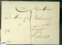 VOORLOPER * CITO BRIEFOMSLAG Uit 1821 Van ´s-HERTOGENBOSCH Naar ZEIJST ZEIST  (9775) - Niederlande