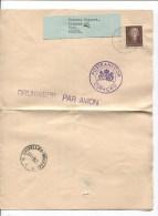 Curaçao Drukwerk Par Avion Willemstad 1955Postkantoor Curaçao  To Gent Via Brussel PR2047 - Curaçao, Nederlandse Antillen, Aruba