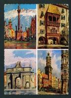 AUSTRIA  -  Innsbruck  Multi View  Used Postcard As Scans - Innsbruck