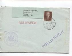 Curaçao Drukwerk Per Luchtpost  Willemstad 1955 Postkantoor Curaçao  To Gent  PR2048 - Curaçao, Nederlandse Antillen, Aruba