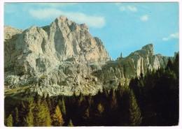 K3940 Dolomiti - Pareti Nord Dello Schiara Con La Gusela Del Vescovà / Viaggiata 1976 - Altre Città