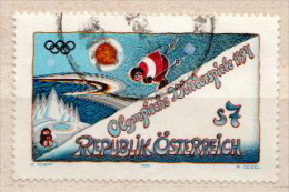 Austria Used Stamp - Winter 1994: Lillehammer