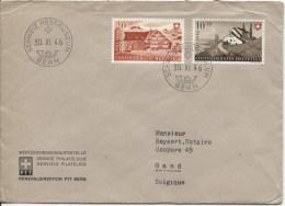Suisse-Switzerland TP Surtaxe C.Schweiz.Postmuseeum En 1946 V.Gand PR2049 - Suisse