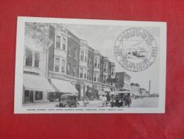 - Iowa Creston  Adams Street 1869-1969 Centennial  Card    1809