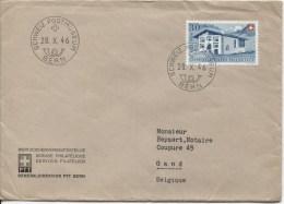 Suisse-Switzerland TP Surtaxe C.Schweiz.Postmuseeum En 1946 V.Gand PR2050 - Suisse