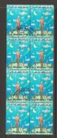 SAN MARINO - 1997  SIMPOSIO UFO  Blocco 8v. Usato - Space
