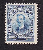 Cuba, Scott #250, Mint Hinged, Ignacio Agramonte, Issued 1911 - Unused Stamps