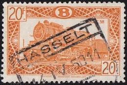 BELGIUM - Scott # Q321 Locomotive Of 1835 (*) / Used Stamp - 1942-1951