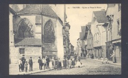 AUBE 10 TROYES Eglise Et Place St Nizier - Troyes