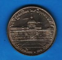 THAILANDE 10 BAHT 2535 (1992) 60° Anniversaire De L'Assemblée Nationale   Y#269 - Thaïlande