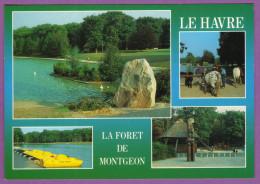 LE HAVRE La Forêt De MONTGEON Avec Son Parc De Loisirs Multivues Carte Neuve - Le Havre
