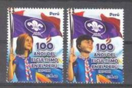 Peru (2011) Yv. 1890/91   /  Boy Scouts - Scouting - Movimiento Scout