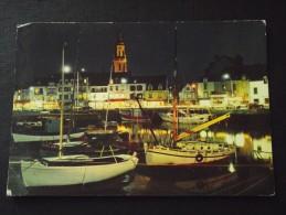 Le CROISIC (Loire-Atlantique) - Fantaisie Lumineuse Sur Le Port - Voyagée Le 22 Août 1973 - Le Croisic