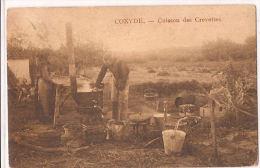 COXYDE  CUISSON DES CREVETTES  Re 714  Staat Verso ! - Koksijde