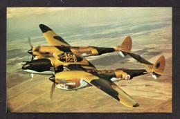Cpsm P F. AVIONS De GUERRE : LOCKHEED P 38 LIGHTNING. - 1939-1945: 2nd War