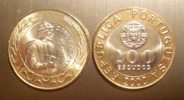 VF MOEDA DE PORTUGAL 200$00  DE 2000 GARCIA DE HORTA (NOVA) - Portogallo