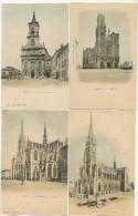 Nancy Ensemble 8 Cartes Colorisée Bergeret Avant 1903 - Nancy