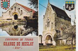PARCAY-MESLAY (37-Indre Et Loire), Blason, Environs De Tours, Grange De Meslay, Ed. Artaud - France