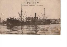 Paquebot   Messageries Maritimes PEI HO - Steamers