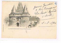 CPA (72) LA FERTE-BERNARD-  Porte De La Ville, Précurseur - (013) - La Ferte Bernard