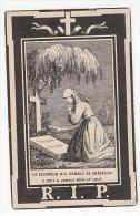 Décès Marie Jeanne BILEM Veuve Lambert-Joseph Toussaint Bande 1893 - Images Religieuses
