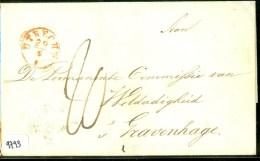 VOORLOPER * BRIEFOMSLAG Uit 1843 Van ZEIST Via UTRECHT  Naar 's-GRAVENHAGE (9793) - Nederland