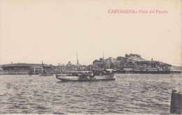 Cartagena    Vista Del Puerto    Schip Boot    Nr 2363 - Colombie