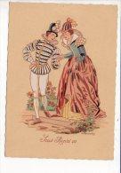 "Illustrateur Ou Dessin De E. Renaudin - ""Costume Sous Henri III (3)  "" - Illustrateurs & Photographes"
