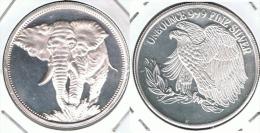 ONZA OUNCE FINE SILVER PLATA - Monedas