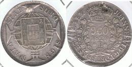 BRASIL 960 REIS RIO DE JANEIRO 1820 PLATA SILVER - Brasil